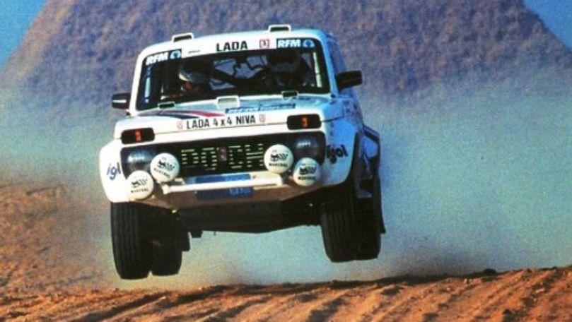 O echipă elvețiană a înscris o Lada Niva la Dakar 2022
