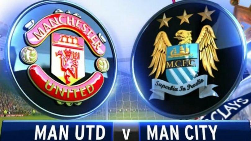 Manchester United și Manchester City și-au prezentat noile tricouri