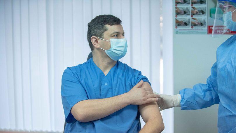 Morbiditatea din cauza COVID-19 a scăzut în rândul lucrătorilor medicali