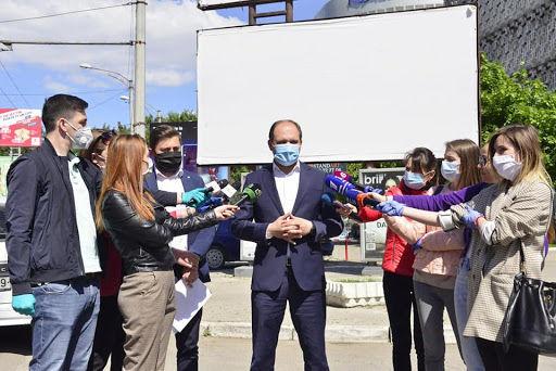 Примэрия Кишинёва намерена запретить рекламу в исторической зоне города