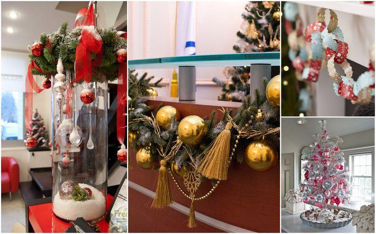 Идеи для оформления офиса к Новому году