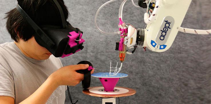Исследователи объединили AR, 3D-печать и робототехнику