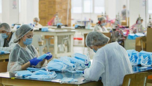 В РМ открылась фабрика, способная поставлять защитные маски на экспорт