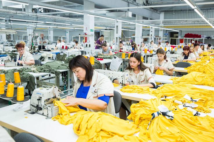 Более 700 рабочих мест созданы при открытии новой текстильной фабрики