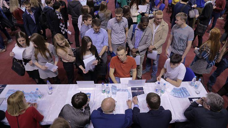 В Кишинёве прошла ярмарка вакансий