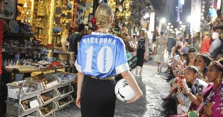 D&G trebuie să îi achite daune de 70.000 de euro lui Maradona