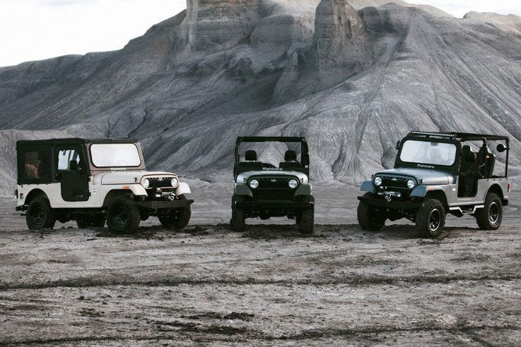 Иск Jeep заставил автопроизводителя из Индии сменить дизайн своих машин