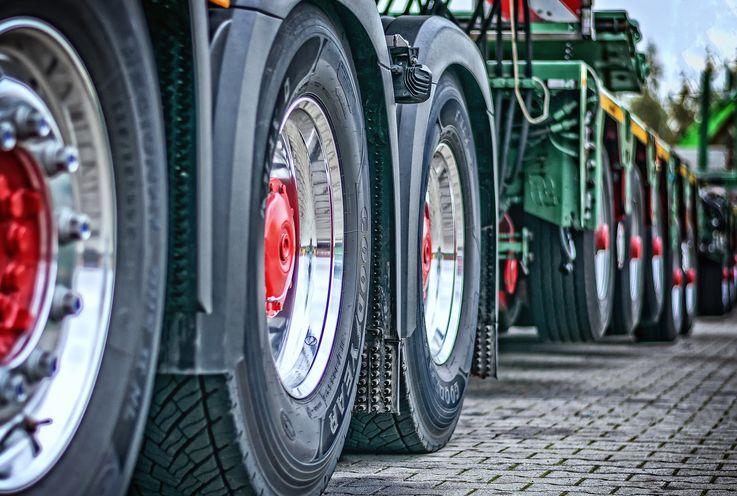 Введён запрет на передвижние крупнотоннажных грузовиков