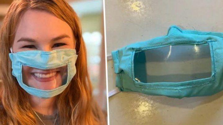 Молдованка в Италии занялась производством масок для глухонемых