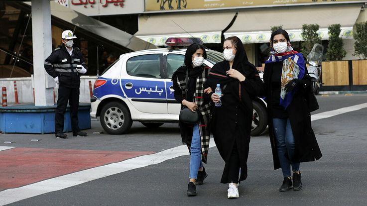 В Иране 27,5 тысяч водителей оштрафованы из-за коронавируса