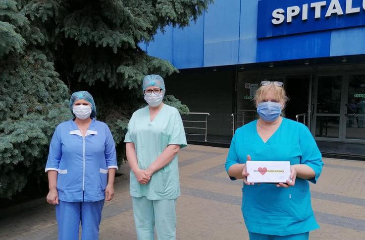 Женщины-врачи из РКБ получили в подарок косметические процедуры