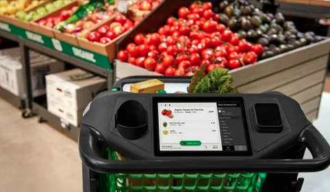 Amazon представил умные тележки для покупок в магазинах