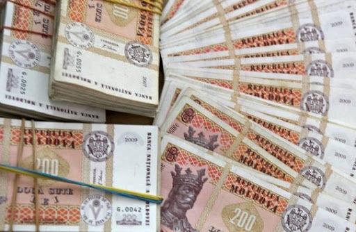 В мае дефицит госбюджета увеличился еще более чем на 800 миллионов лей