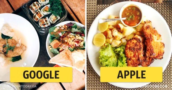 Как обедают в офисах мировых компаний