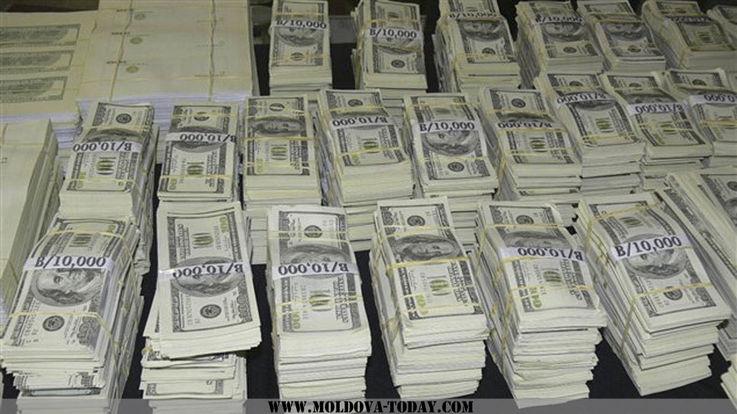 За прошедший год валютный резерв Молдовы увеличился на $64,44 млн.