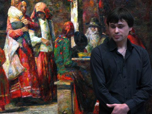 В Страсбурге проходит выставка молдавского художника Георге Лисицы