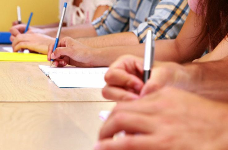 Сегодня лицеисты сдают последний экзамен на степень бакалавра