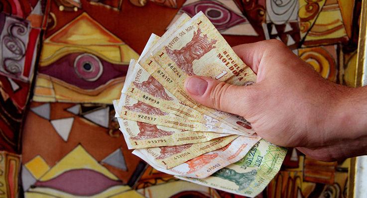 Молдавская валюта у населения закончатся раньше, чем валюта у Нацбанка