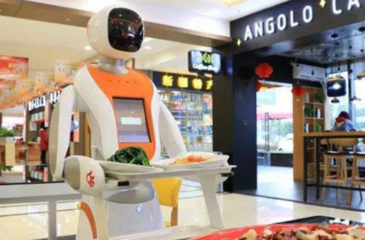 В Китае открылся первый роботизированный ресторан