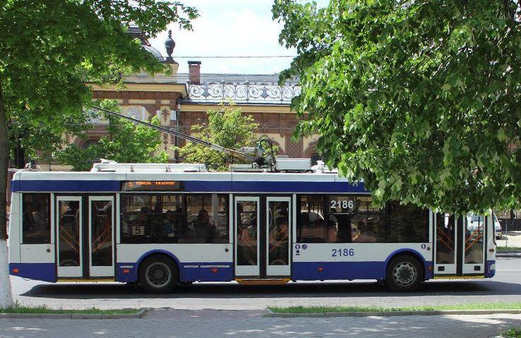 Проезд на троллейбусе в Кишинёве может стать бесплатным