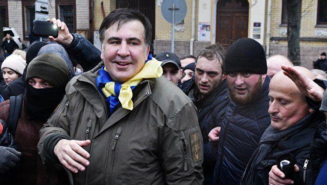 Саакашвили заявил о создании «украинской сечи» возле Рады