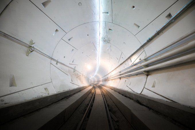 Первый сверхскоростной тоннель: запуск состоится в 2020 году