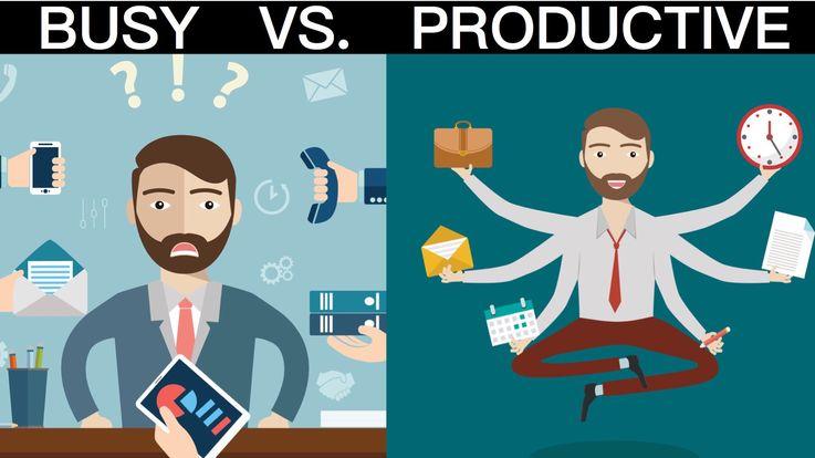 В чём отличия между занятыми и продуктивными людьми