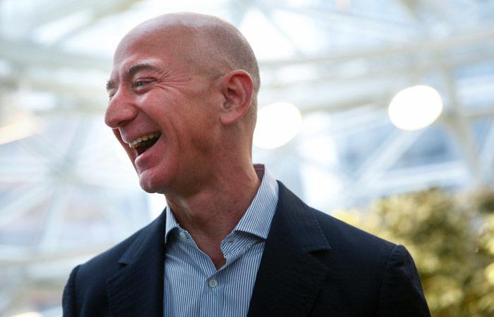 Глава Amazon Джефф Безос стал богаче на $12,8 млрд меньше чем за час