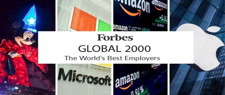 Рейтинг крупнейших компаний мира Forbes Global: кто в первой десятке