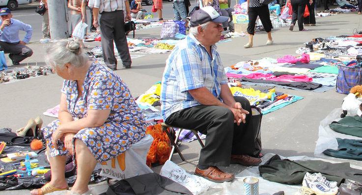Скромные пенсии вынуждают пенсионеров распродавать последние ценности