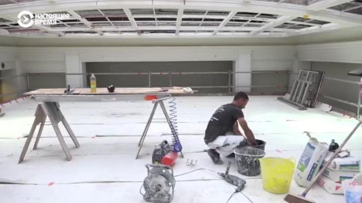 Молдавские строители реставрируют достопримечательности в Бельгии