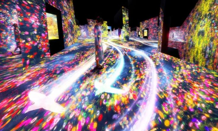 В Токио появится музей цифрового искусства