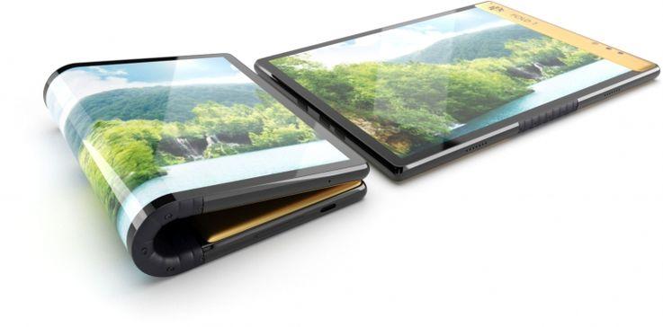 Брат  Эскобара объявил войну Apple, выпустив гибкий смартфон за $350