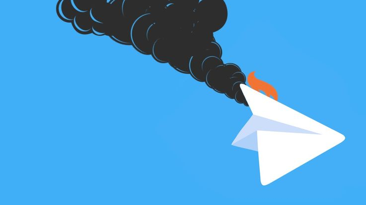 В Telegram сломалась отправка сообщений