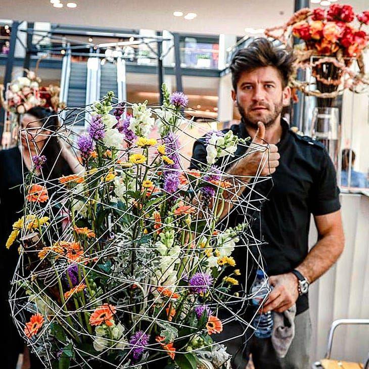 Молдованин признан лучшим флористом в Португалии
