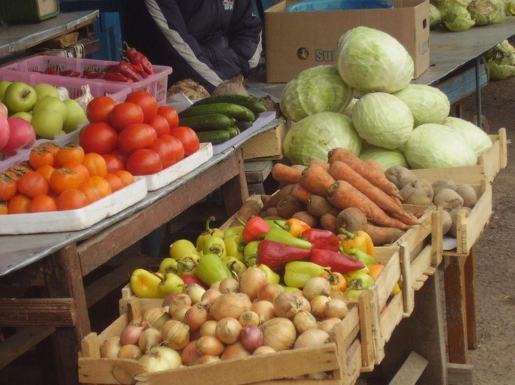 Торговцы сельхозпродукцией не спешат выходить на временные агрорынки