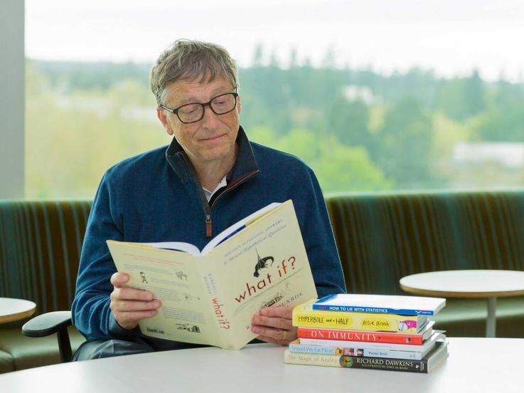 Читать как Билл Гейтс: четыре стратегии внедрения повседневной привычки