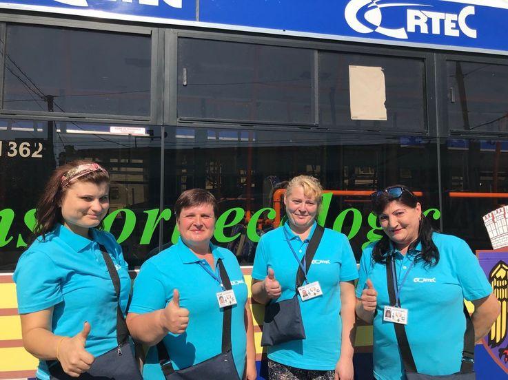 У водителей троллейбусов и кондукторов новая униформа