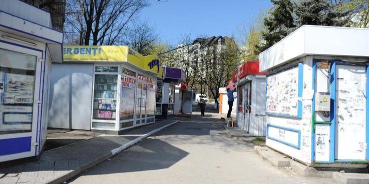 Около 500 киосков демонтированы в столице за последний год