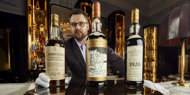 В Шотландии собираются продать самую большую коллекцию виски (ВИДЕО)