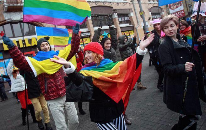 Нарушение прав сексуальных меньшинств в украине
