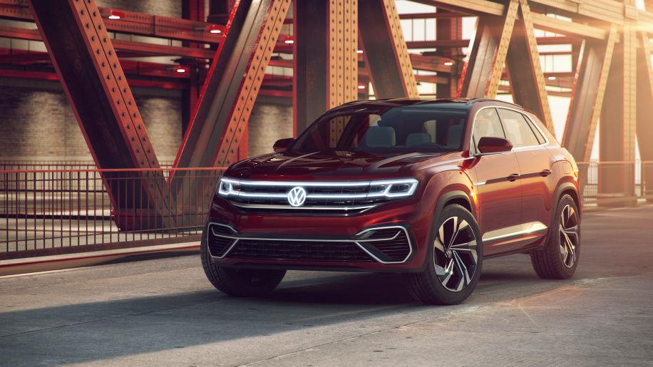 Volkswagen рассекретил дизайн нового кроссовера