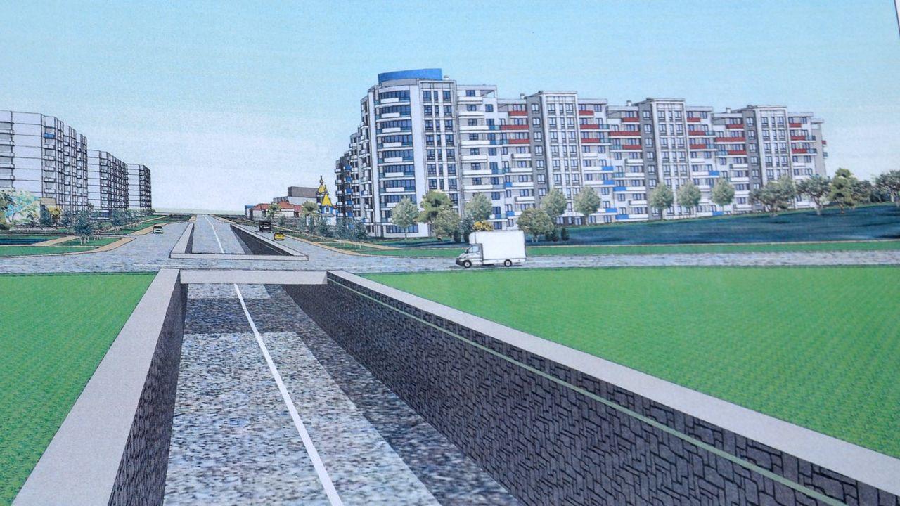 На въезде в Бельцы появится многоэтажный жилой квартал