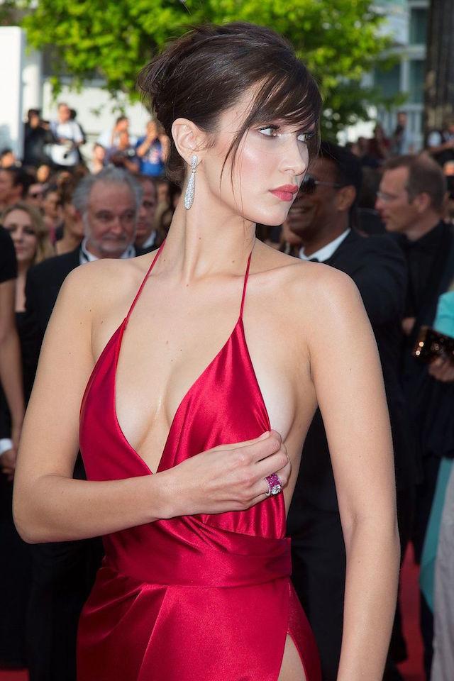 «голое» платье топ-модели беллы хадид стало хитом каннского фестиваля платье - teema viimased uudised - Postimees