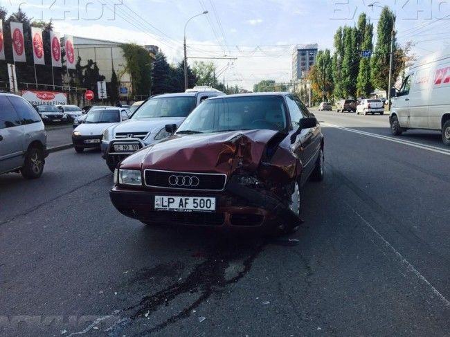 Расчиталась за аварию
