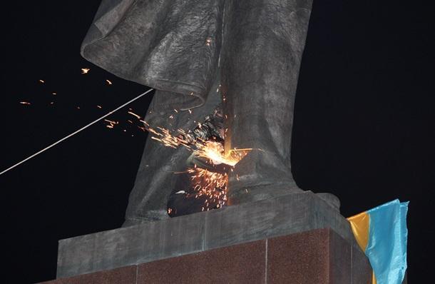 снос памятников ленину, одесская область