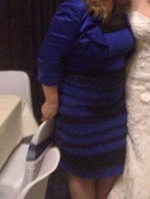 Мир спорит о цвете платья синее или