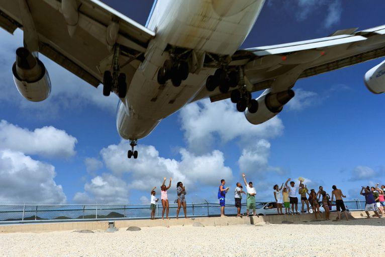 аэродром, пляжи