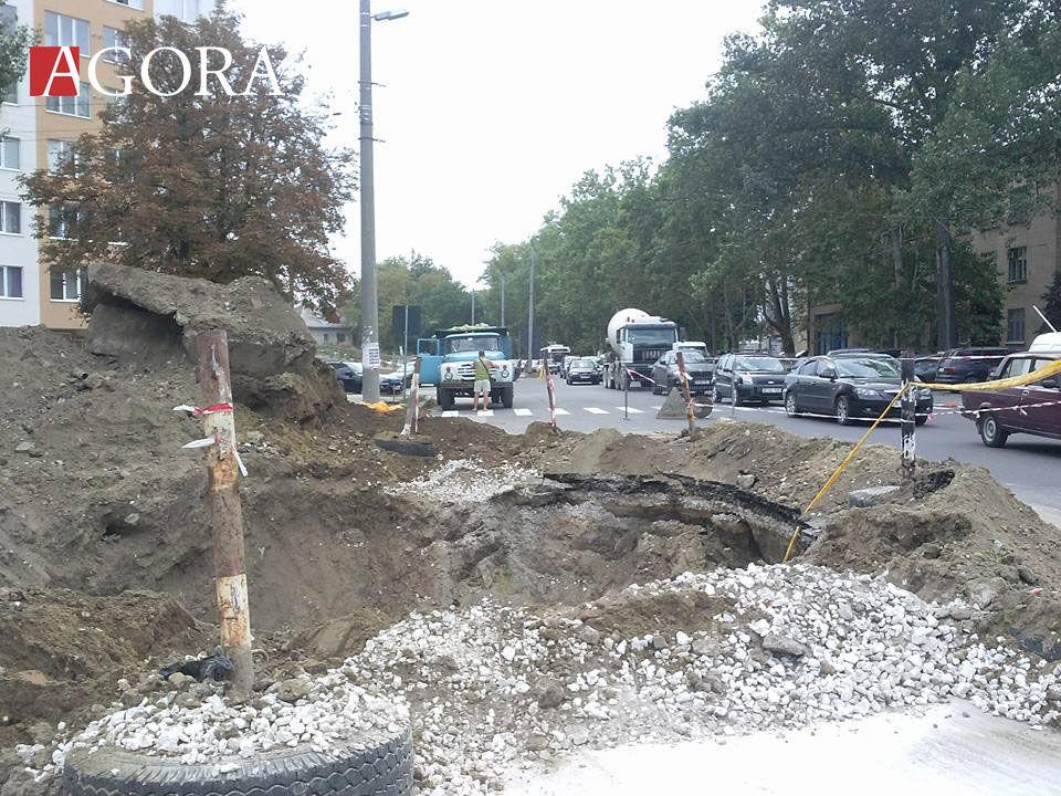 Участок улицы Г. Коандэ будет перекрыт до середины сентября
