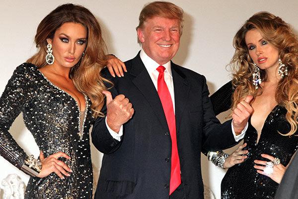 """Attēlu rezultāti vaicājumam """"дональд трамп и девушки"""""""